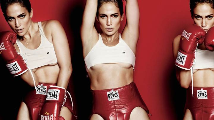 Jennifer Lopez Three Different Pose At Mario Testino Photoshoot